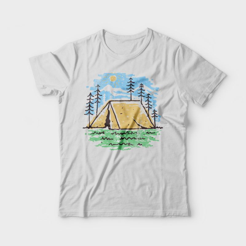 Camper buy t shirt design