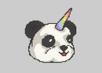 PandaCorn Vector t-shirt design
