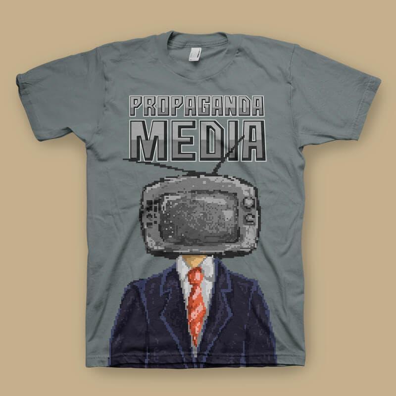 Propaganda tshirt design buy t shirt design