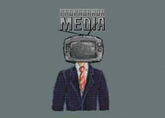 Propaganda tshirt design