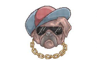 Pug Life tshirt design