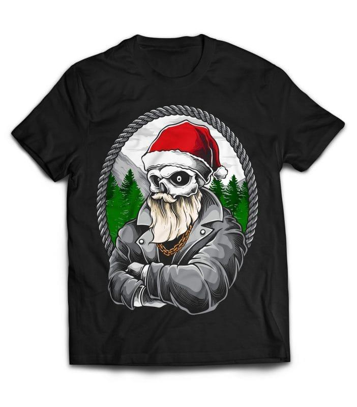 Santa Gangster buy t shirt design