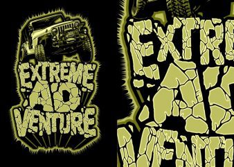 Extreme adventure buy t shirt design