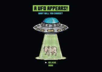 The Ufo Paradox tshirt design buy t shirt design