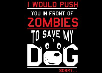 Dog Zombies buy t shirt design