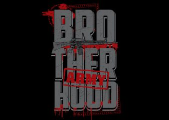 Brotherhood Veteran t shirt template