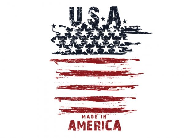 made in usa t shirt design