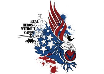 usa eagle buy t shirt design