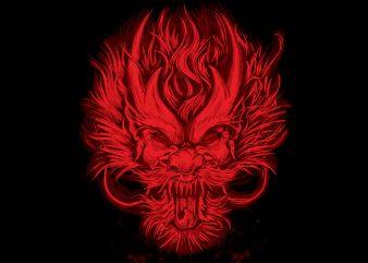 Dragon buy t shirt design