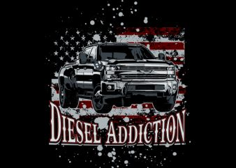 Diesel USA t shirt template