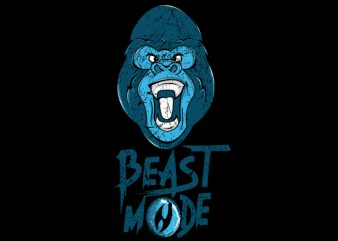 Gorilla Mode buy t shirt design