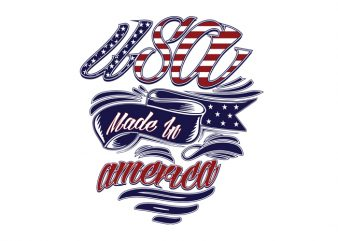 Made in America buy t shirt design