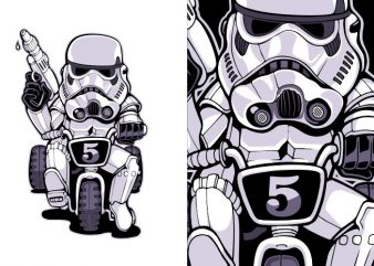 Little trooper buy t shirt design