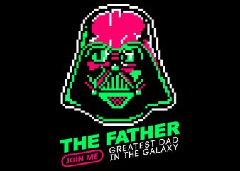 The father buy t shirt design