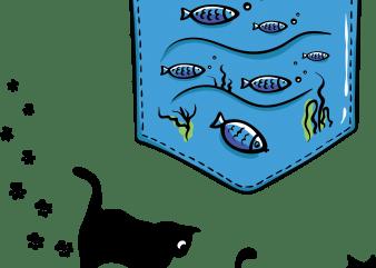 Aquarium pocket buy t shirt design