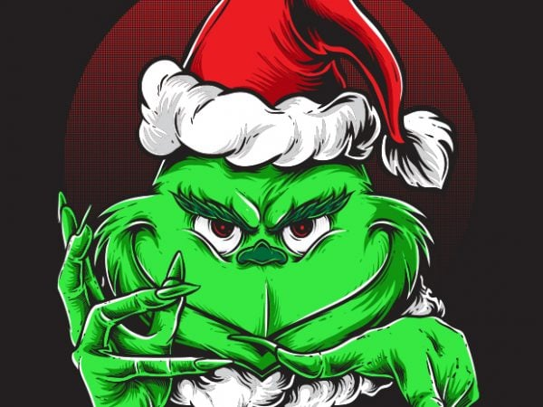 Grinchy Claus buy t shirt design