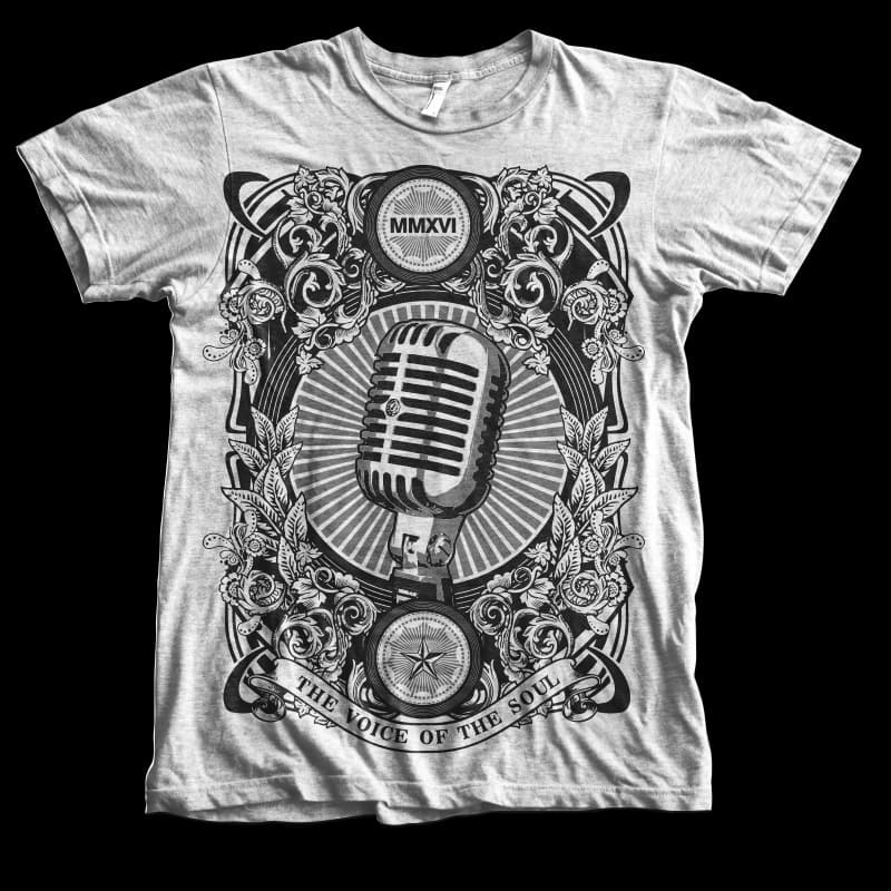 The voice of the soul buy t shirt design