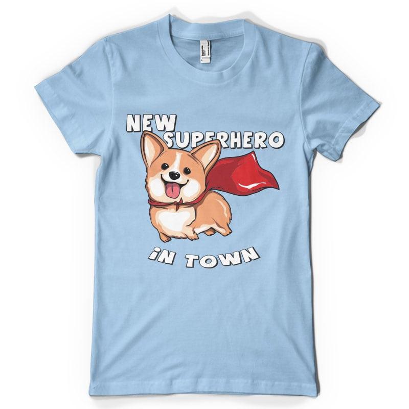 New superhero in town buy t shirt design