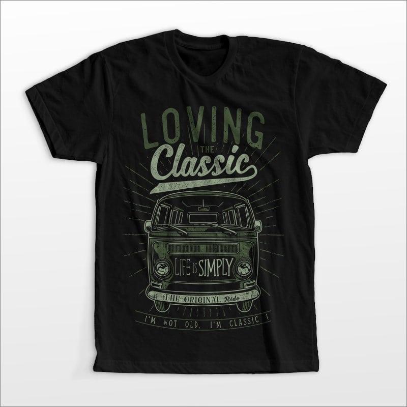 loving the classic buy t shirt design