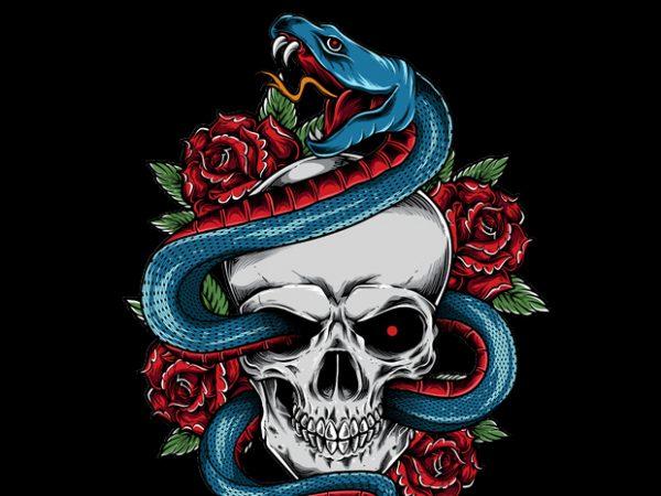 Snake buy t shirt design