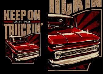 Truckin' t shirt designs for sale
