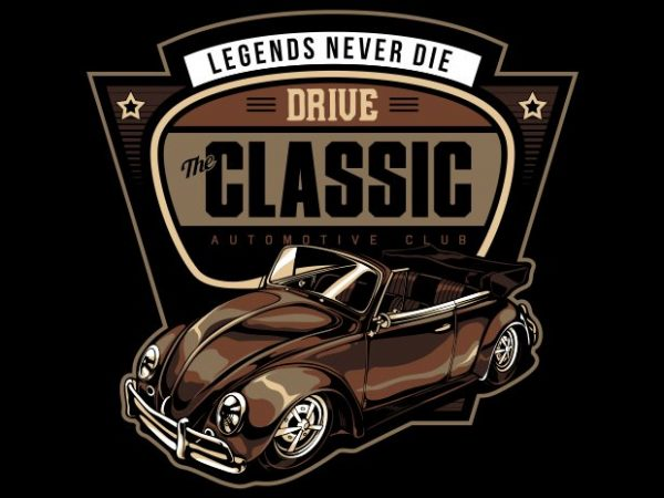 LEGEND NEVER DIE t shirt vector graphic