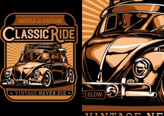 Classic Ride buy t shirt design