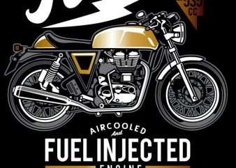Cafe racer t shirt vector file