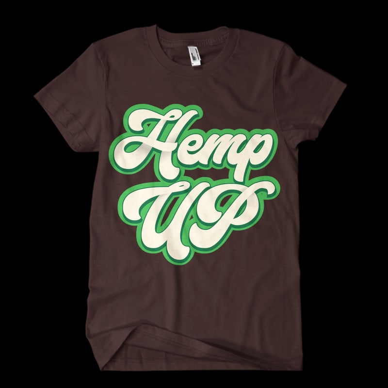hemp up buy t shirt design