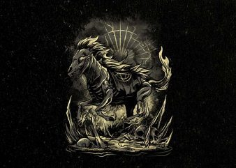cursed horse Graphic t-shirt design buy t shirt design