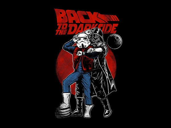 Back To The Darkside Graphic t-shirt design buy t shirt design