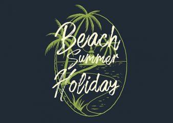 Beach Island Vector t-shirt design buy t shirt design