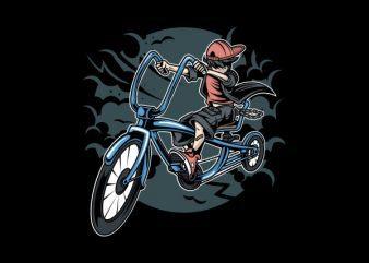 Bicycle Kid Graphic t-shirt design buy t shirt design