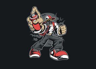 Bomber Graphic t-shirt design