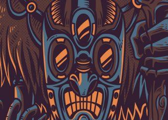 Voodoo People T-Shirt Design