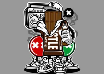 Chocolate Squad Graphic t-shirt design buy t shirt design