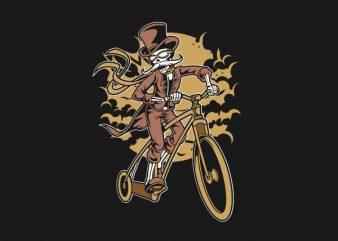 Classic Bicycle Moustache Graphic t-shirt design buy t shirt design