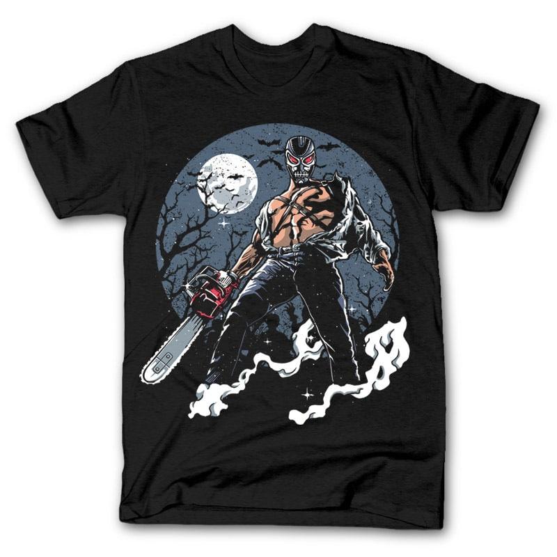 Evil Night Graphic t-shirt design buy t shirt design