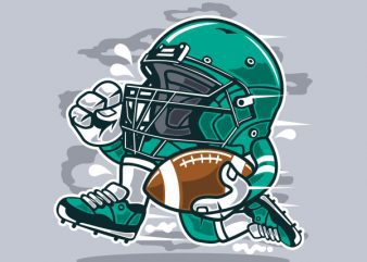 Football Player Vector t-shirt design buy t shirt design