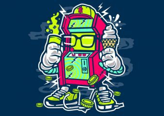 Game Machine Vector t-shirt design buy t shirt design