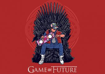 Game Of Future Graphic t-shirt design buy t shirt design