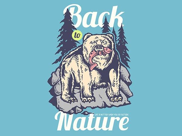 Hunting Bear Vector t-shirt design