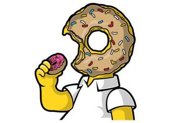 I Like Donut Graphic t-shirt design buy t shirt design