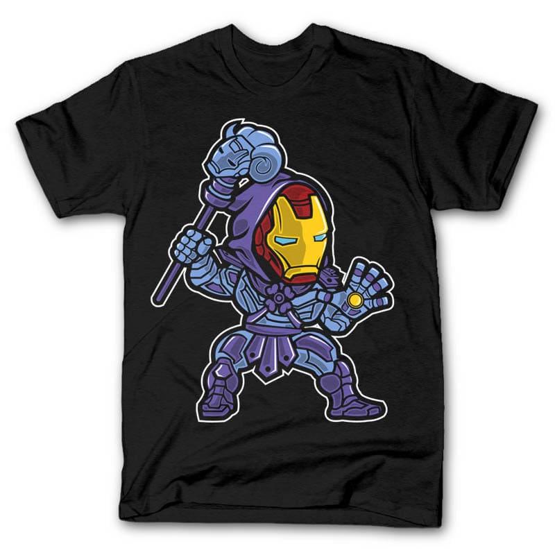 Iron Skeletor buy t shirt design