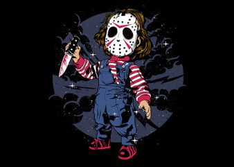 Jason Kid Vector t-shirt design buy t shirt design