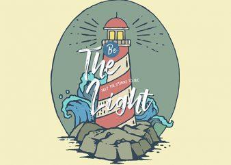 Light House Graphic t-shirt design buy t shirt design