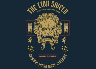 Lion Graphic t-shirt design buy t shirt design