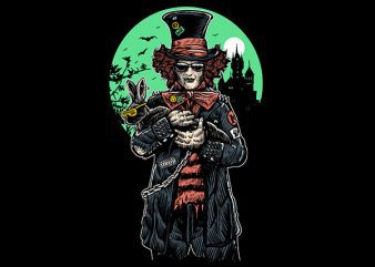 Mad Hatter Graphic t-shirt design buy t shirt design
