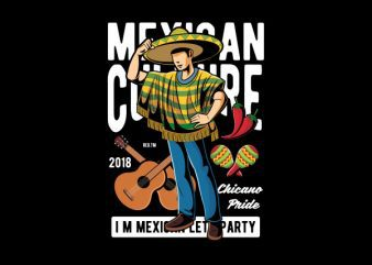 Mexican Vector t-shirt design