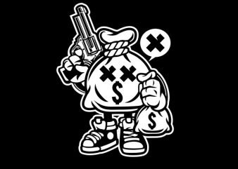 Money Takers Graphic t-shirt design